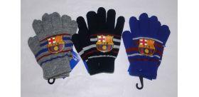 Detské zimné rukavice FC Barcelona