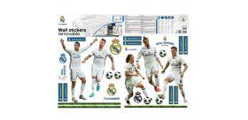 "Samolepiace nálepky na stenu Real Madrid ""Top Players"" MAXI"