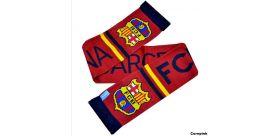 Šál FC Barcelona - pletený