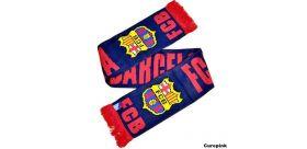 Šál Barcelona FC pletený