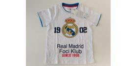 Tričko RM biele - Junior (cc)