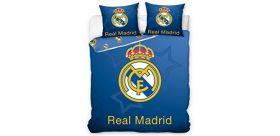 Posteľné obliečky Real Madrid BLUE - DUO(ffzz)  + vak na prezúvky grátis!