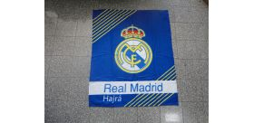 """Fleecová deka Real Madrid - modrá 120 x 150 cm """"cc"""""""