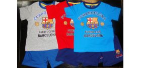 """Detské pyžamo FC Barcelona """"CC"""" - krátke"""