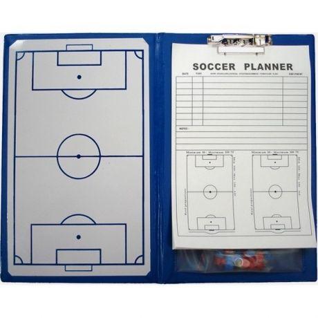 Magnetická taktická tabuľa na futbal - 23 x 36 cm