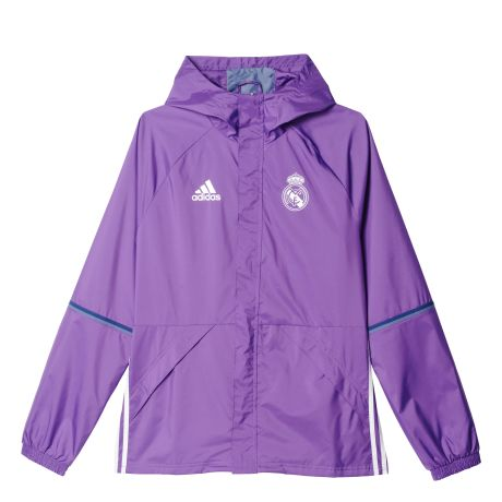 Adidas Real Madrid Rain Jacket 2016/17