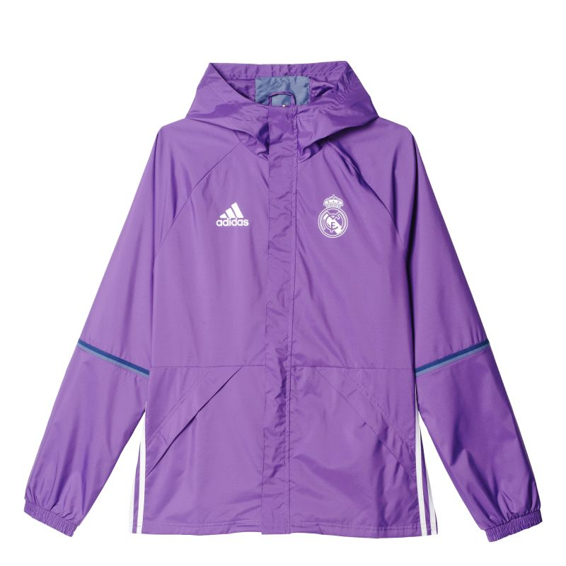 Adidas Real Madrid Rain Jacket 2016 17 Agsport Sk