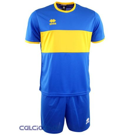 Errea dres + trenírky Limited Edition / modrý