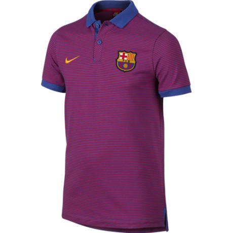 Nike detská polokošela FC Barcelona - fialová