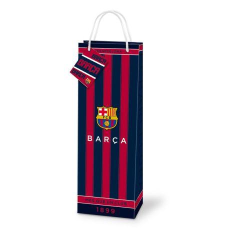 Darčeková taška na fľašu FC Barcelona