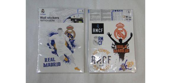 """Samolepiace nálepky na stenu Real Madrid """"Blue"""""""