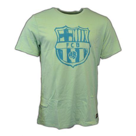 Nike FC Barcelona Crest Tee (enamel green) + darček z nášho obchodu grátis !