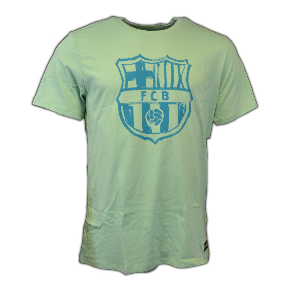 7f9250407c8c Nike FC Barcelona Crest Tee (enamel green) - AGsport