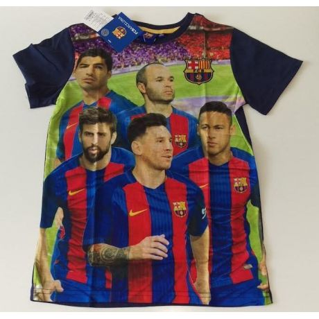 "Chlapčenské tričko FC Barcelona ""players"" (cc)"