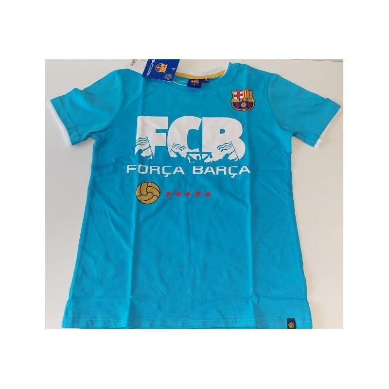 """Detské tričko FC Barcelona """"FCB"""" (cc)"""