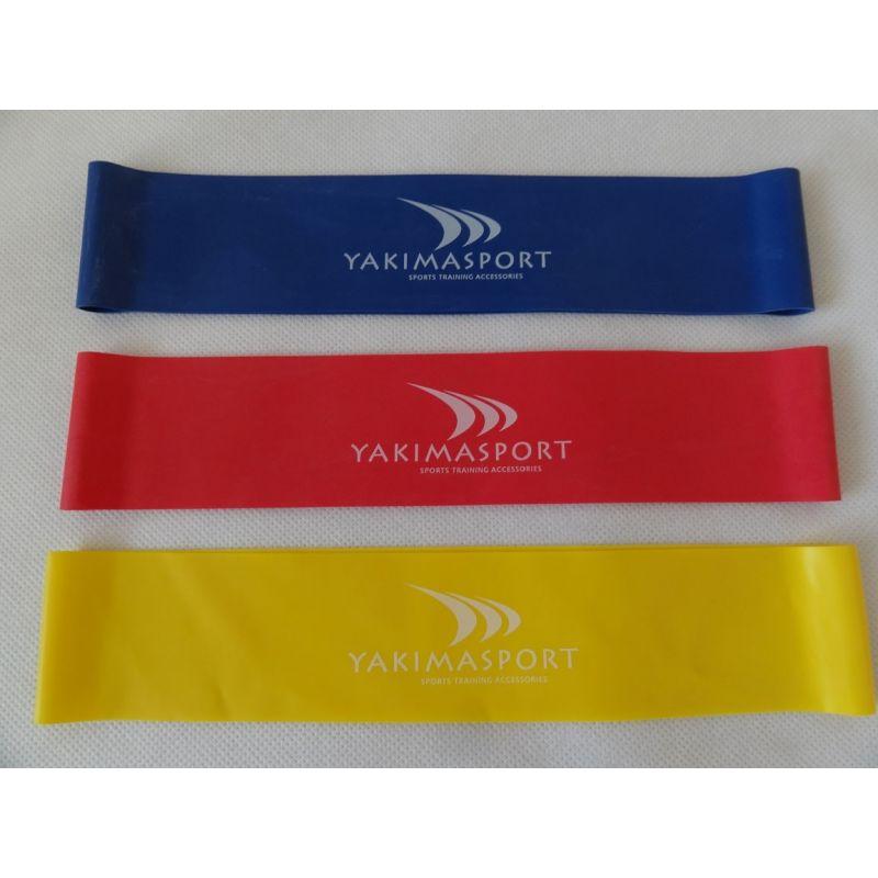 Yakimasport Fitness guma - červená (medium)