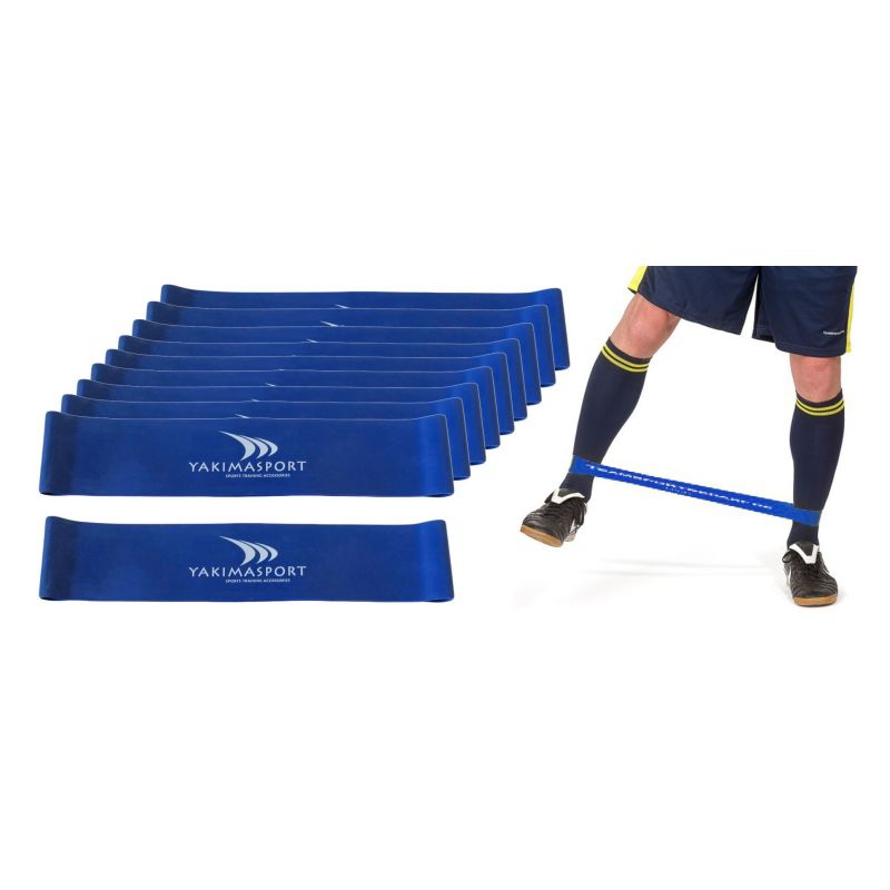 Yakimasport Fitness guma - modrá (heavy)