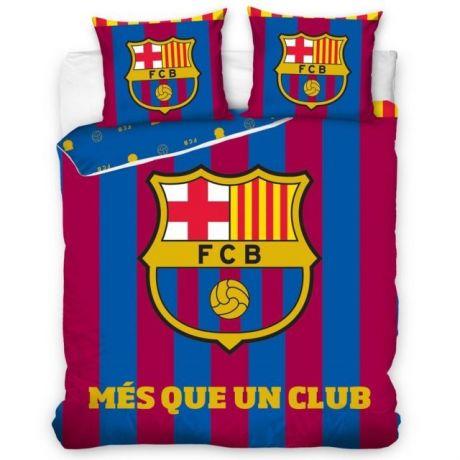 "Posteľné obliečky FC Barcelona ""Més que un club""- DUO(ffzz) + vak na prezúvky grátis!"