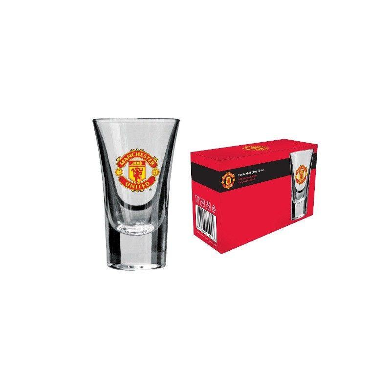Pohár na vodku Manchester United - 3 ks