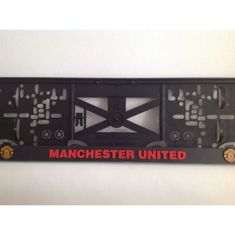 Podložka pod ŠPZ Manchester United - sada 2ks