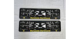 Podložka pod ŠPZ Borussia Dortmund sada 2 ks