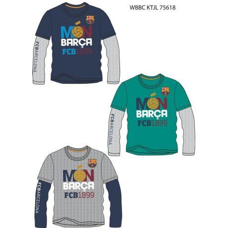 "Detské tričko s dlhým rukávom FC Barcelona ""BARÇA FCB1899"""