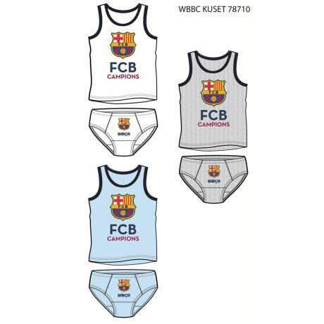 Detský set (tričko a spodky) FC Barcelona