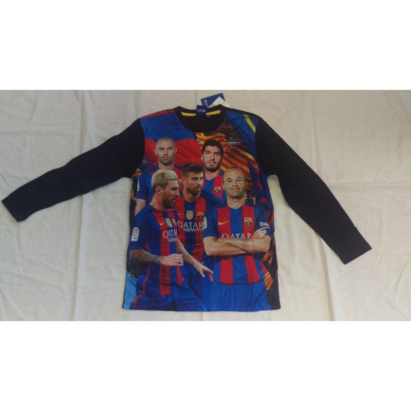 """Chlapčenské tričko FC Barcelona s dlhým rukávom """"Players"""""""