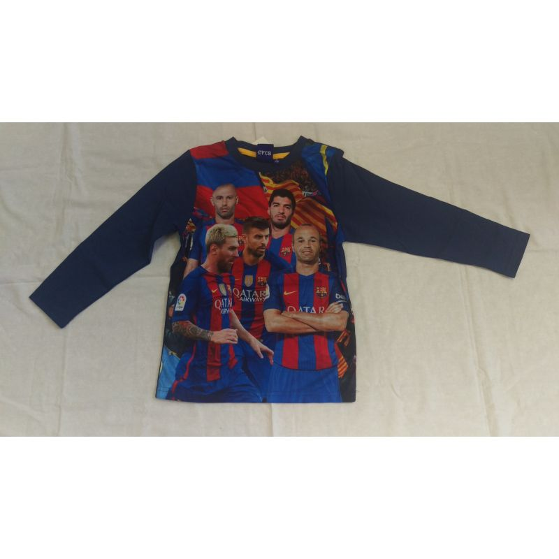 "Detské tričko FC Barcelona s dlhým rukávom ""Players"""