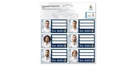 Menovky na zošity Real Madrid - 3 x 6 ks