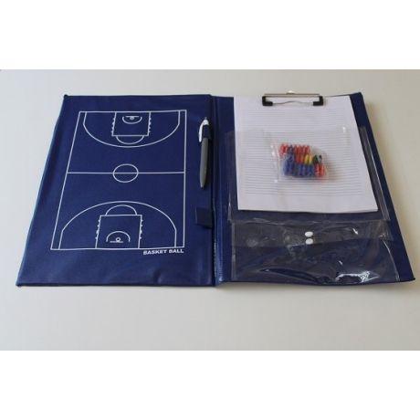 Taktická tabuľa na basketbal - 23 x 40 cm