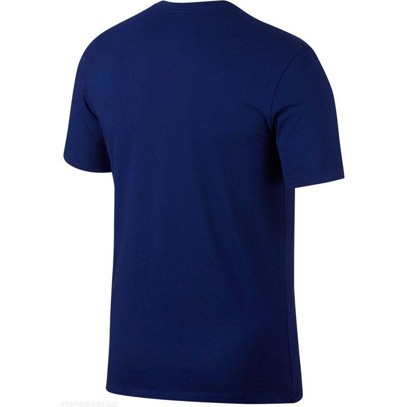 Pánske tričko Nike FC Barcelona tmavomodré + darček z nášho obchodu grátis!
