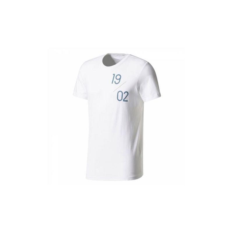 Tričko Adidas Real Madrid SGR TEE 2 biele + darček z nášho obchodu grátis!