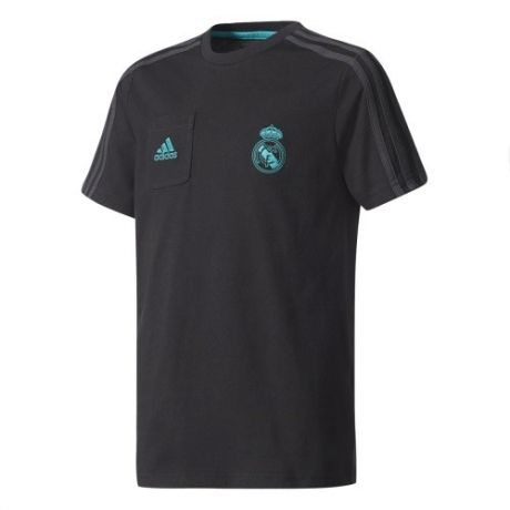 Detské tričko Adidas Real Madrid Tee čierne + darček z nášho obchodu grátis!