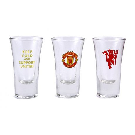 Poháre na vodku Manchester United