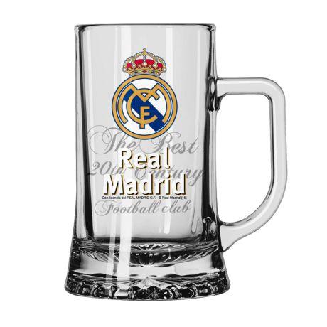 Krígeľ na pivo Real Madrid