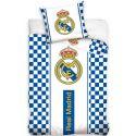 Postelné obliečky Real Madrid kockované (ffcz)