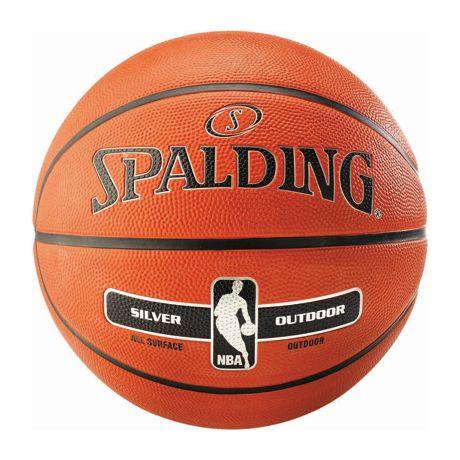 Basketbalová lopta NBA SILVER