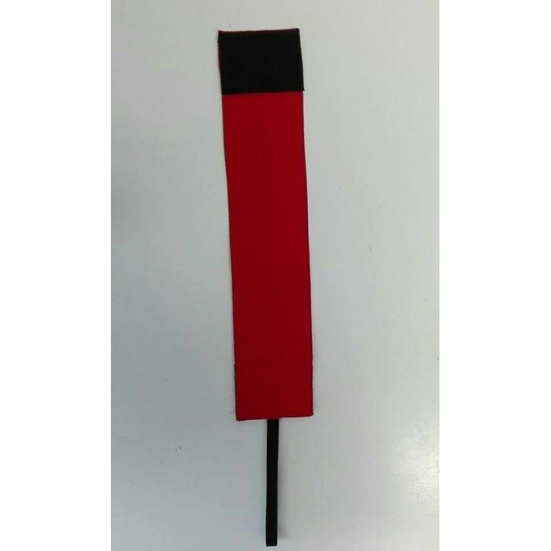 Kapitánska páska WB - červená