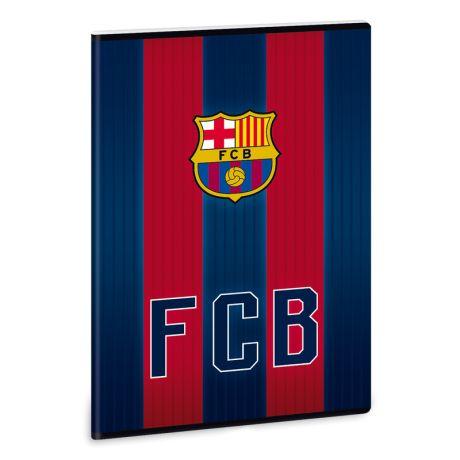 Zošit A/4 čistý FC Barcelona