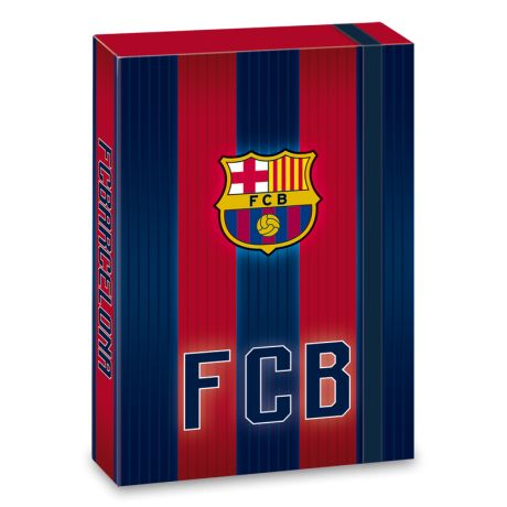 Box na zošity A4 FC Barcelona