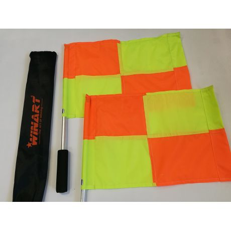 Winart rozhodcovské zástavky - kovové
