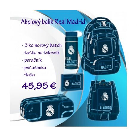 Školský set Real Madrid 2018