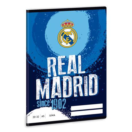Zošit A/5 čistý Real Madrid