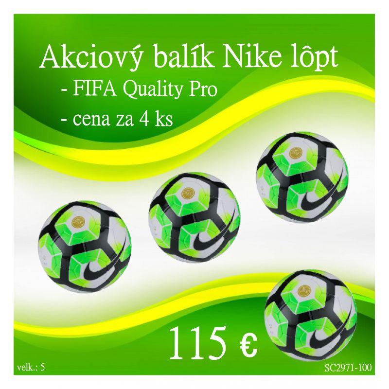 Akciový balík futbalových lôpt Nike