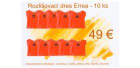 Rozlišovací dres Errea - 10 ks