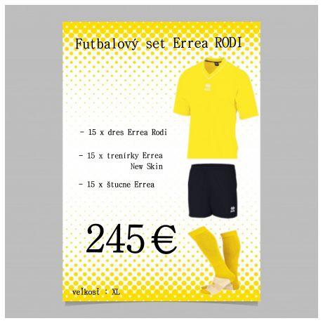 Akciový balík Errea Rodi - žlté