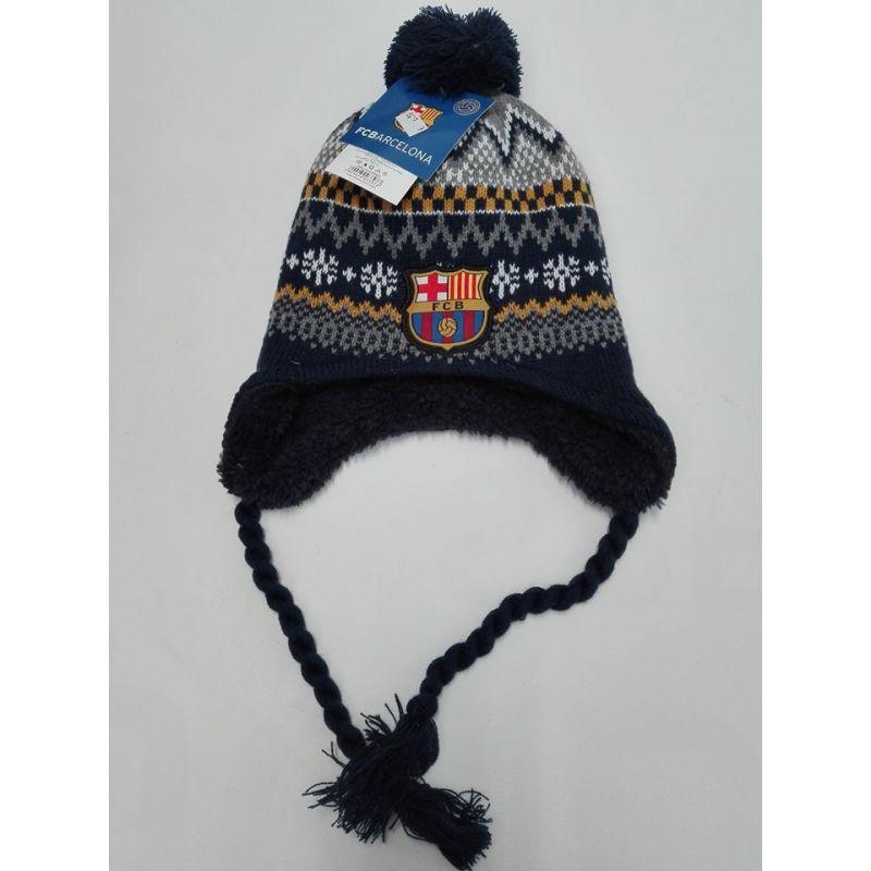 Detská zimná čiapka FC Barcelona