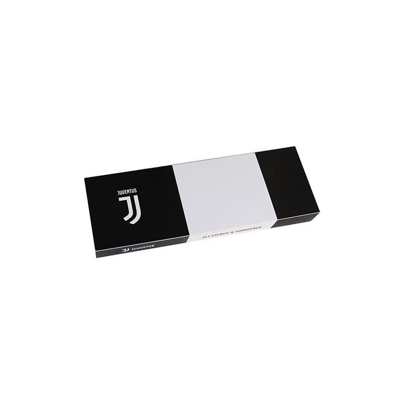 Sada ceruziek v drevenej krabici Juventus