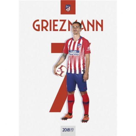 Pohľadnica Atletico de Madrid - Griezmann